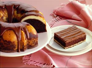 Fudge Ribbon Cake