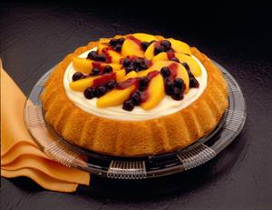 Blueberry and Peach Shortcake