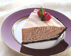 Heavenly Chocolate Mousse Pie