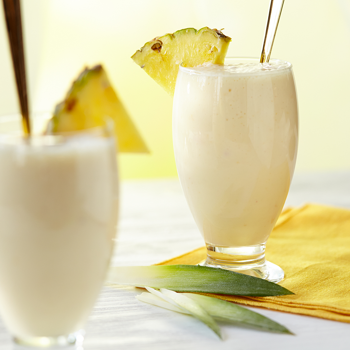 Fresh Tropical Pineapple Smoothie