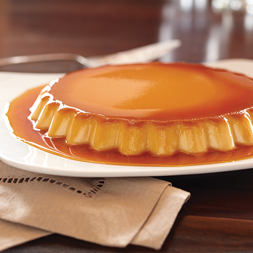 Caramel Cream Cheese Flan