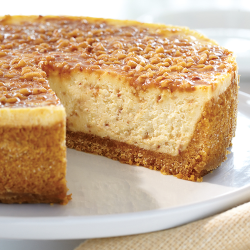 English Toffee Cheesecake