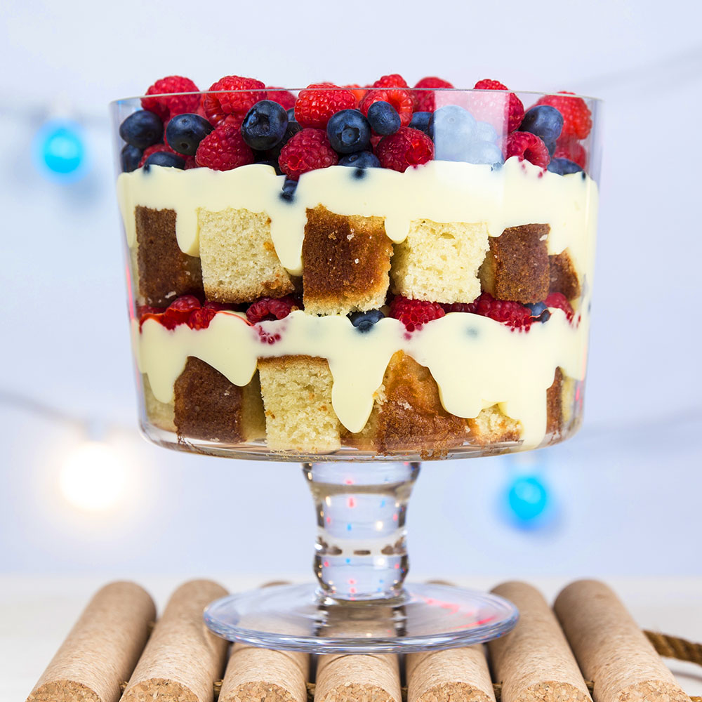 Berry Patriotic Trifle