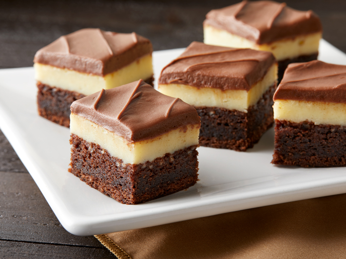 Cheesecake Layered Brownies