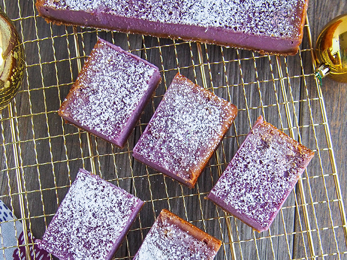 Purple Yam Bars