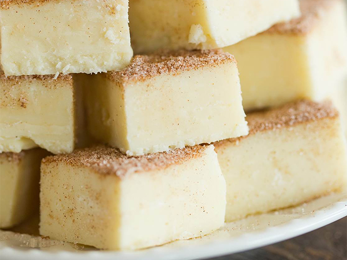 Snickerdoodle Fudge